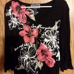 Karen Scott blouse